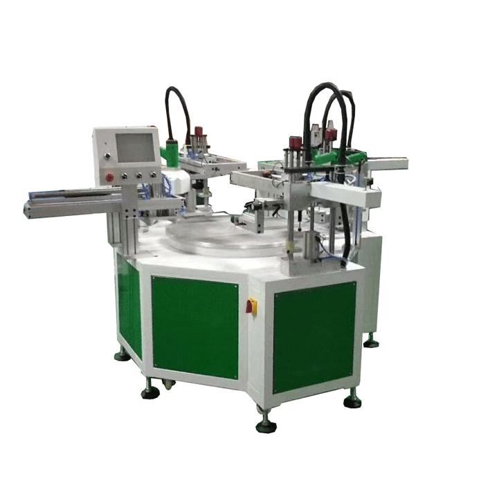 自動三色平面絲印機