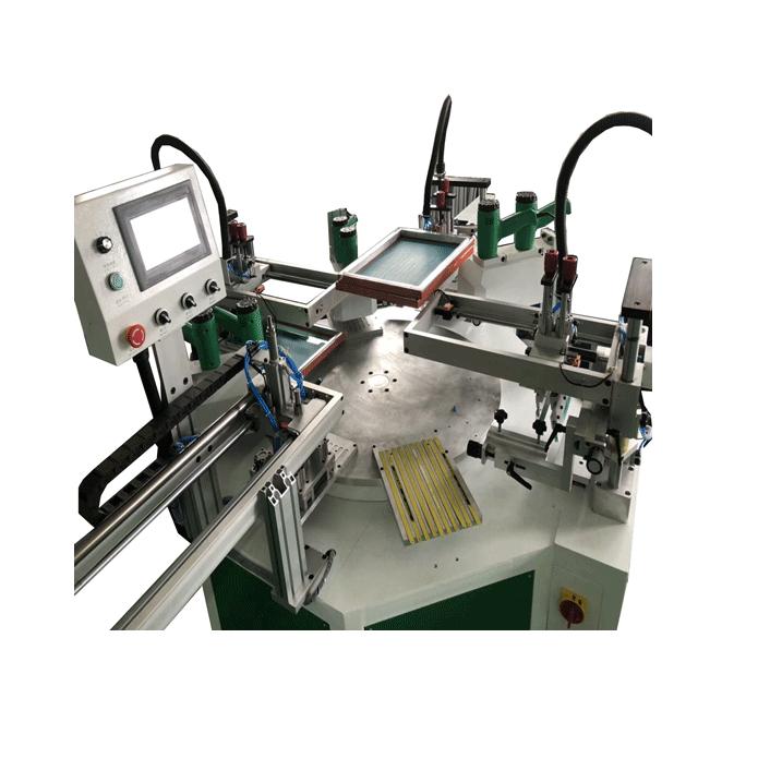自動三色平面絲印機 5