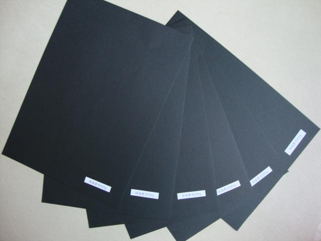 100% wood pulp black paper for photo album and hanger 2