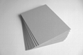 grey book binding board