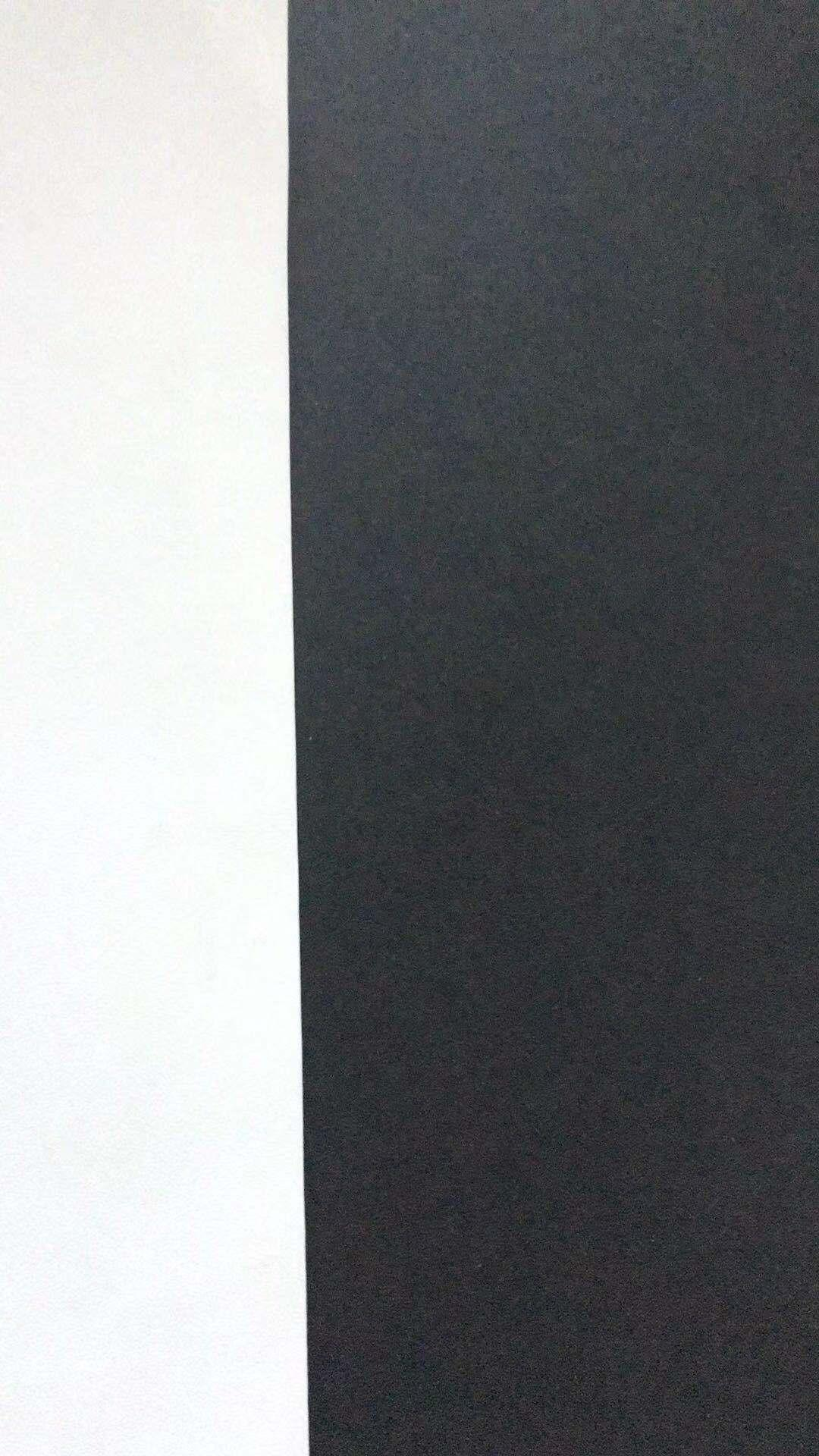 150g one side white coated black paper 1