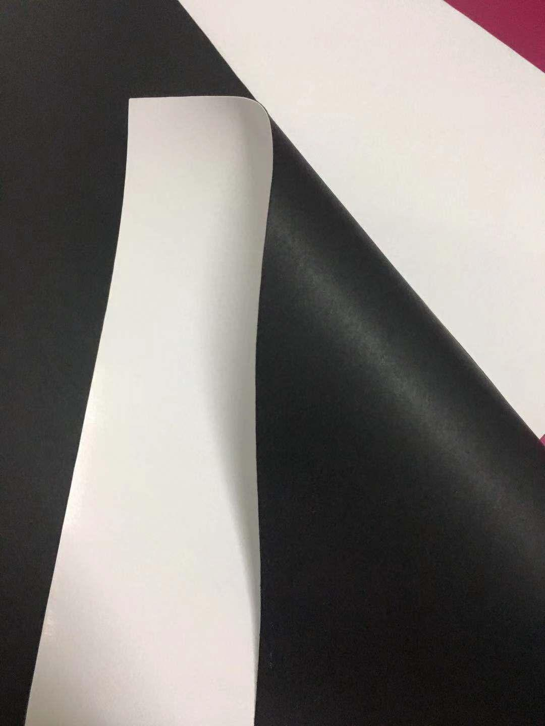 150g one side white coated black paper 2