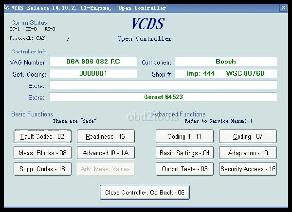 vcds 14.10.2