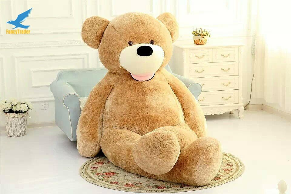 big soft plush toy,christmas wholesale giant brown skin teddy bear 340CM  2