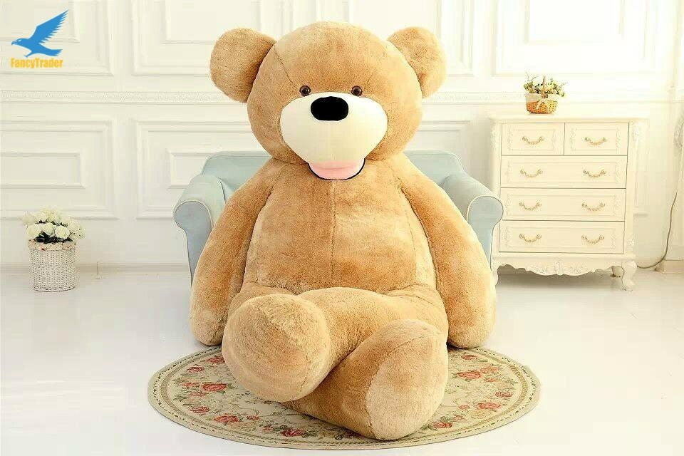 big soft plush toy,christmas wholesale giant brown skin teddy bear 340CM  1