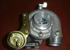 Diesel engine VE pump turbo charger