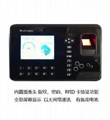 深圳帶攝像頭指紋門禁廠家威爾迪