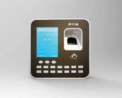 方形指紋密碼刷卡門禁考勤機