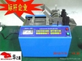 automatic silicone tube pipe cutting