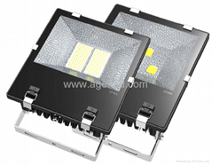 AC85-277V.IP65,尺寸375x310x121mm.150W LED 投光燈