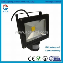 20W LED感應投光燈