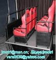 5D theatre core system manufacture 6DOF 6seats pnematic chair platform home thea 2