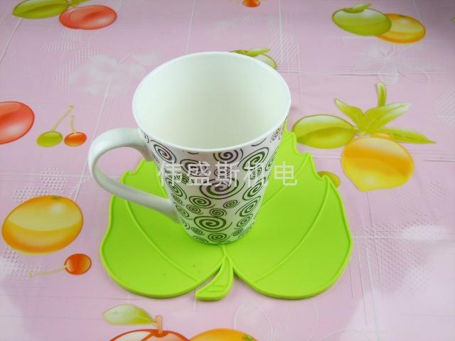 楓葉硅膠杯墊 1