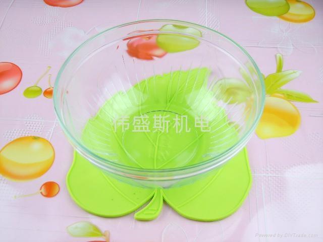 楓葉硅膠杯墊 2