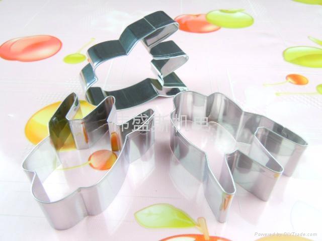 食品級進口不鏽鋼迷你蛋糕烘焙模具 3
