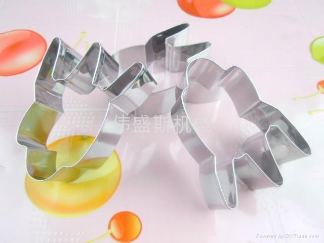 食品級進口不鏽鋼迷你蛋糕烘焙模具 5