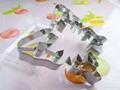 食品級不鏽鋼diy立體曲奇餅模 4