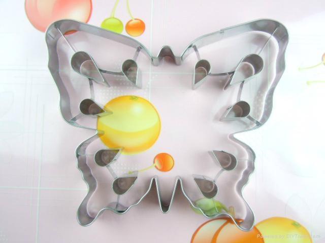 食品級不鏽鋼diy立體曲奇餅模 5