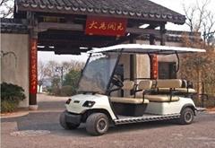 六座高爾夫觀光車