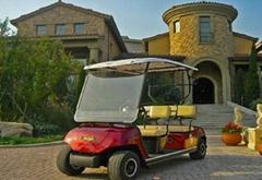 四座高爾夫觀光車
