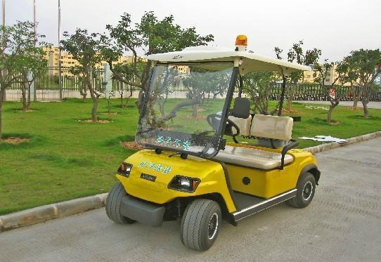 兩座電動高爾夫球車 3