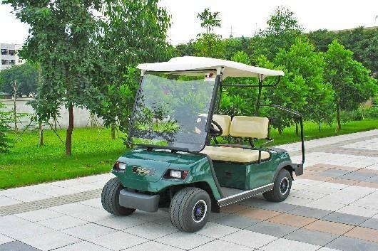兩座電動高爾夫球車 4