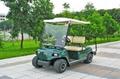 两座电动高尔夫球车 4