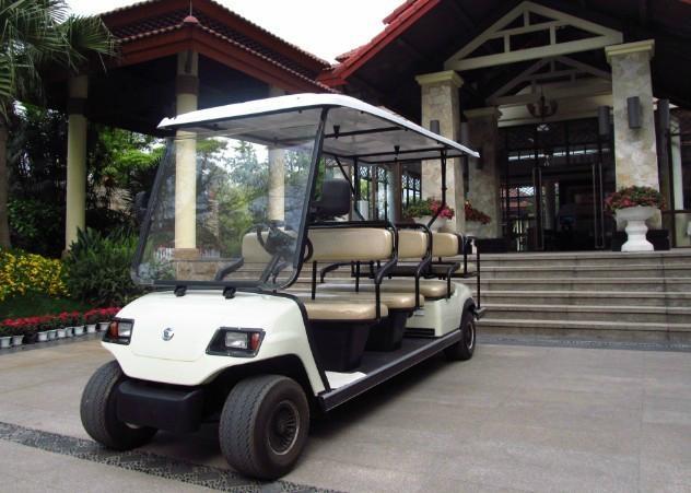 成都十一座电动高尔夫球车 5