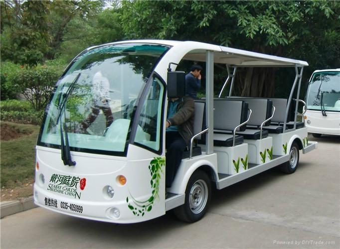 十四座电动旅游观光车 2