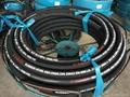 High Pressure Steel Wire Spiraled Hose DIN EN 856 4SH Hydraulic Hose Manufacture 2