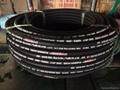 High Pressure Wire Braided Rubber Hose DIN EN 853 2SN Hydraulic Hose 5