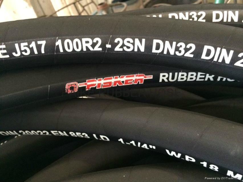 Steel Wire Reinforced Hydraulic Hoses 2