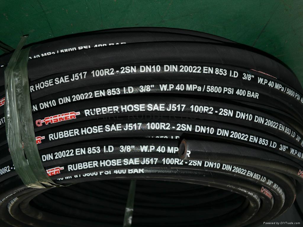 Steel Wire Reinforced Hydraulic Hoses 5