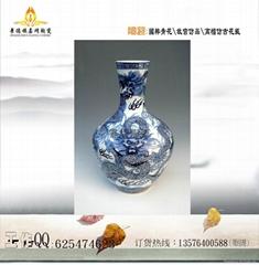 陶瓷禮品花瓶定製