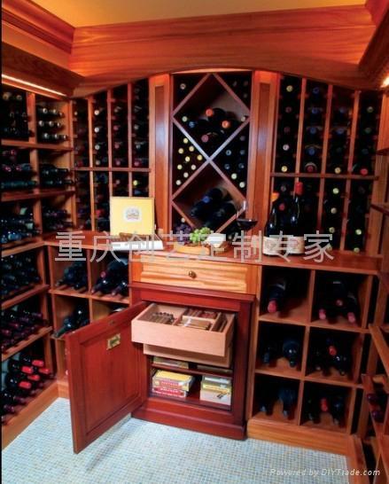 美式设计风格酒窖 5