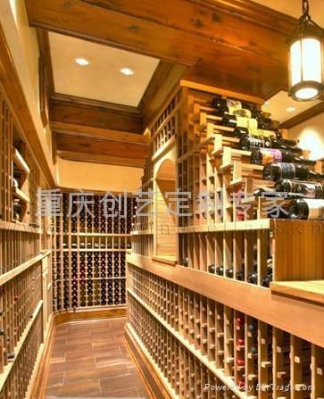 美式设计风格酒窖 1