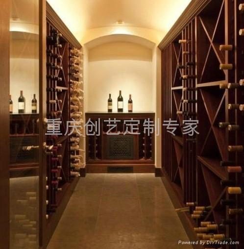 美式设计风格酒窖 4