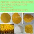water treatment chemical polyaluminium chloride PAC spray dried