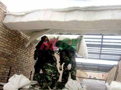 隧道窯吊板磚改平頂保溫耐火棉