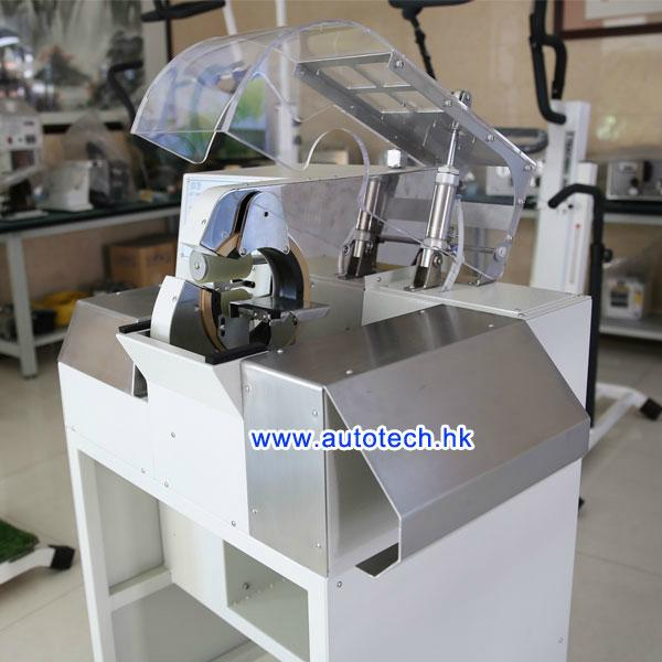 Electric vehicle wiring harness tape machine at