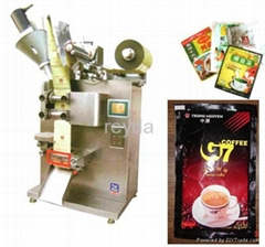Granule powder jam sauce paste beverage milk filling sealing packing machine