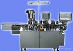 Ballpoint refill pen extruding assembly machine