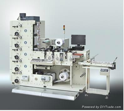 Flexography flexo label printing press printer machine 1