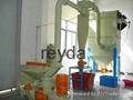 plastic rubber ultra micro super fine Turbine Vortex jet mill grinder