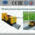 precast concrete fence mold/fence post making machine