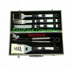 5pc S/S Tool Set in Aluminum case