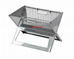 Notebook barbecue grill