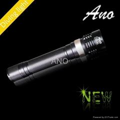 ANO D806 850 lumens diving led light