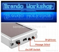 High quality SMD P2.5 Usb rechargeable led sign display board 3