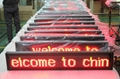 High brightness PH7.62 Led message display board led bus sign 3